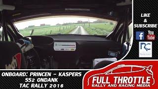 Onboard | Princen - Kaspers | SS2 Ondank | TAC Rally 2016