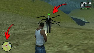 Secret Slenderman Location in GTA San Andreas! (Myths and Facts)