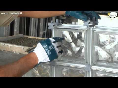 Come costruire una parete in vetrocemento per doccia for Costruire tartarughiera in vetro