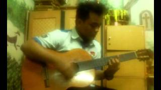 Fendhy - Bertahan (by Papinka cover acoustic)