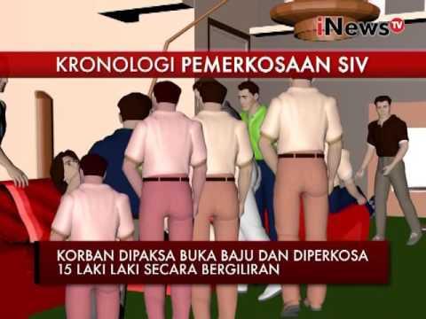 Download Video Inilah Kronologi Pemerkosaan Yang Dilakukan 15 Orang Terhadap SIV - INews Siang 10/05