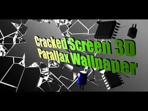 Cracked Screen Gyro 3d Parallax Wallpaper Hd Video