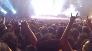 Rammstein Fuego Guitarras Lanza Llamas