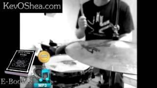 ★ Advanced Drum Lesson ★Kick Hat Snare 04 with Transcription