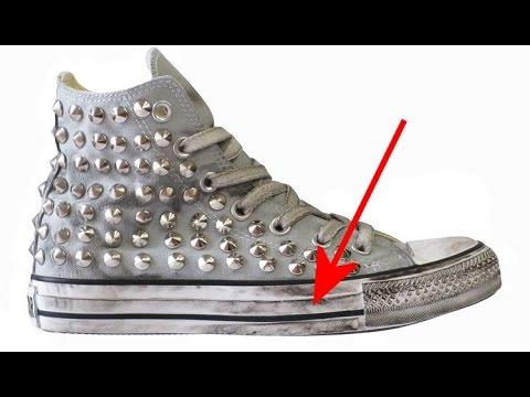 come preparare un detersivo per lavare le scarpe di tela in