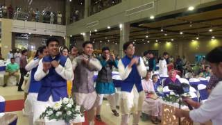 entry song in holud/mehendi - sajan ji ghar aye (imran's holud)