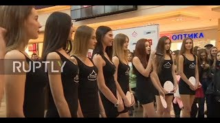 Russia: Young models vying to be cast Miss Russia
