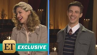 EXCLUSIVE: 'The Flash' and Supergirl Musical: Go Behind-the-Scenes of Kara & Barry's Tap Dancing-…