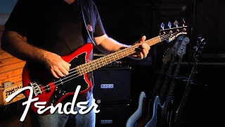 Squier Vintage Modified Jaguar® Bass Special SS Demo | Fender
