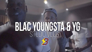 YG & Blac Youngsta - Studio Vlog ( Official Video )