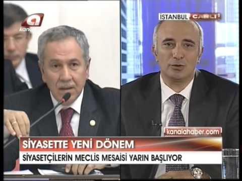 """Kanal A - HABERLER / O. Suat Özçelebi : """"TBMM, Yeni Anayasa, Asker Sivil İlişkileri"""""""