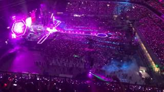 Coldplay live San Siro, Milano 3/7/17 Every teardrop is a waterfall
