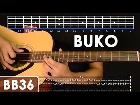 Buko - Jireh Lim Guitar Tutorial (includes intro lead and rhythm ...