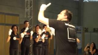 """REATECH 2012 Interpretação da música """"Faz um milagre em mim (Regis Danese).AVI"""