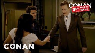 Conan Guest Stars In A Mexican Telenovela