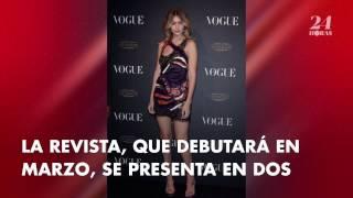 Gigi Hadid hace historia en la portada del primer número de Vogue Arabia