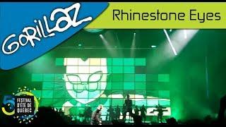 Gorillaz - Rhinestone Eyes | Live; Festival d'été de Québec (15-07-2017)