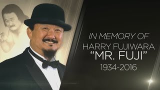 A special look at Mr. Fuji's legendary career