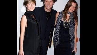 Jon Bon Jovi's Daughter Arrested for Heroine