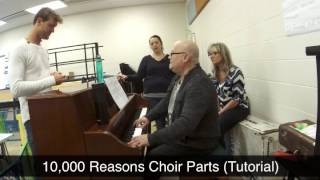 10,000 Reasons Choir Parts Tutorial