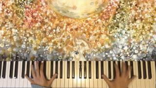 [Piano] Spinning Sky Rabbit 回る空うさぎ - Hatsune Miku 初音ミク【 弾いてみた】