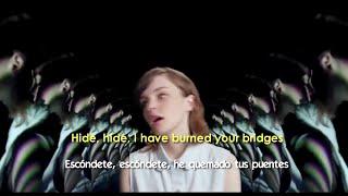 CHVRCHES - Gun (Lyrics - Sub Español) Official Video