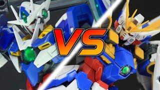 GUNDAM THROWDOWN | 1/144 RG Wing Gundam EW VS 00 Quan[T]