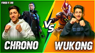 Chrono Vs Wukong Best Clash Squad Battle As Gaming Challenge Little Brother 😂 - Garena Free Fire