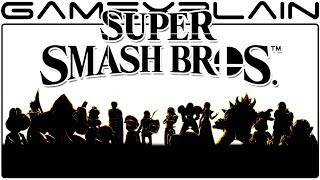 Super Smash Bros. Switch - The BEST Look at the Fiery Character Silhouettes Yet? Our Thoughts!
