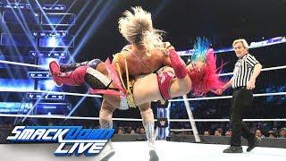 Charlotte Flair vs. Asuka: SmackDown LIVE, Dec. 11, 2018