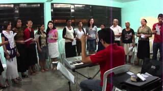 E o tempo de Segar 1 - ensaio CORAL VOZES DE JÚBILO ipda sede de Manaus - Am