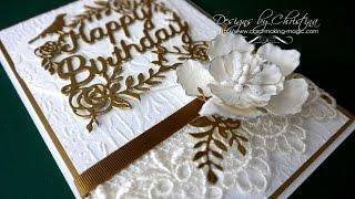 Die Cutting Essentials 22 (DCE22) Happy Birthday Die