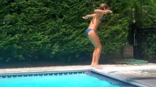 """Hello""  Martin Solveig and Dragonette Pool Backwards Video SUMMER!!! 2011"