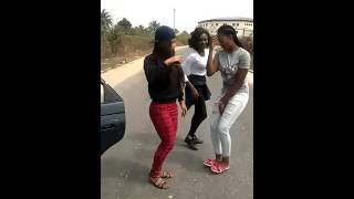Uniport Girls dancing to   Like Conga by Loxxy (Part2)