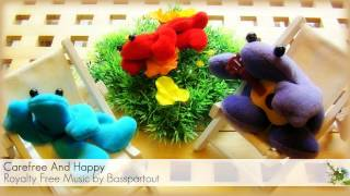 Upbeat Ukulele Instrumental Background Music - Carefree And Happy