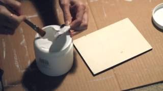 How To Prime Wood Panels for Oil Painting