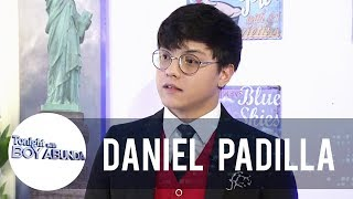 Daniel Padilla shares that he is also saving for his future | TWBA