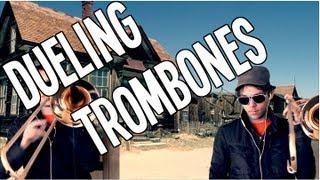 Dueling Trombones - Dueling Banjos for Trombone