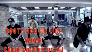 Booty Had Me Like / Round2Crew ft Sage the Gemini / Choreography by AJ