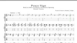 Boku no Hero Academia Season 2 OP - Peace Sign