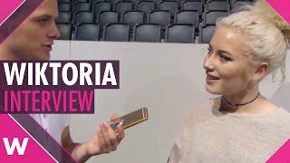 "Wiktoria ""As I Lay Me Down"" | Melodifestivalen 2017 Final (INTERVIEW)"