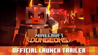 Co-Op hack-and-slasher Minecraft Dungeons is out now