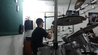 Luiz Eduardo...Amante não tem lar Marilia Menconça (Drum  cover)