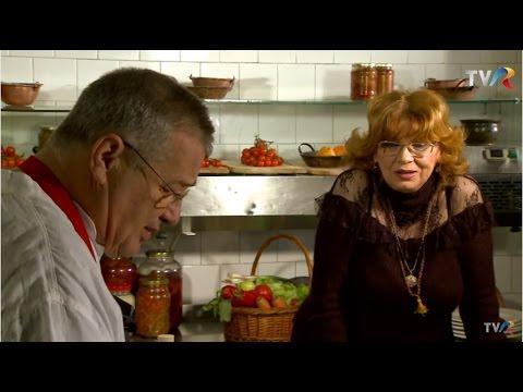 Reţeta lu' Dinescu: Legume umplute cu brânză prăjită