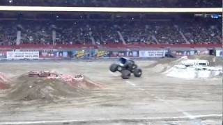 Monster Jam Vancouver BC 2012