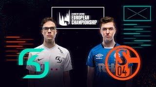 [PL] League of Legends European Championship Lato 2020 | SK vs S04 | BO5