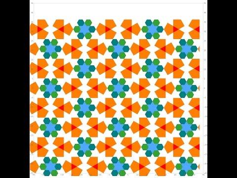 伊斯蘭的幾何拼貼 07 - YouTube