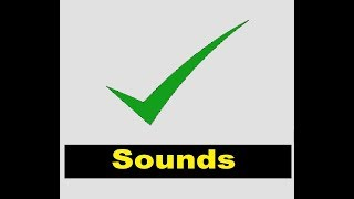 Correct Sound Effects All Sounds