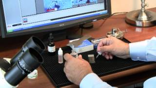 (MOLD - Mounting a spore trap slide for Microscope Analysis of Mold)