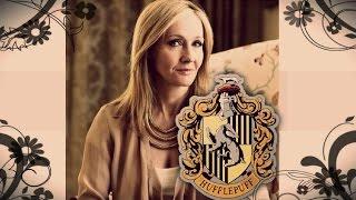JK Rowling wish's she was a Hufflepuff.